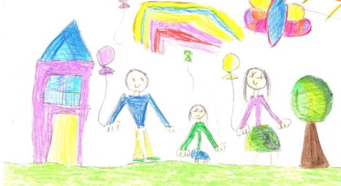 Students experience drawing as a strategy that can help shift unpleasant emotions to calmer, more pleasant ones.