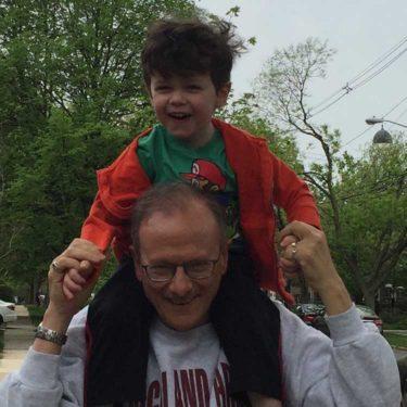 Maurice Elias and Grandson