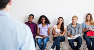 Lead a brief choral reading practice that fosters community and connection.