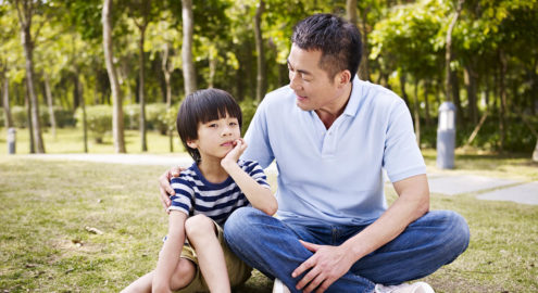 Discussion questions for families to deepen their child's experience of gratitude