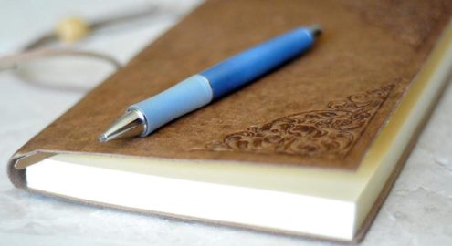 Build your well-being by keeping a journal of your pleasant feelings throughout the day