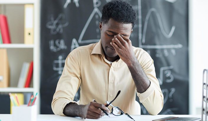 Teachers need support in stressful times.