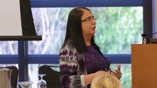 Linda Lantieri gives a talk on SEL and gratitude.