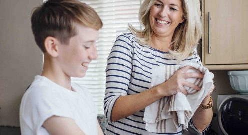 Strategies for parents and caregivers to help teens understand and practice being humble